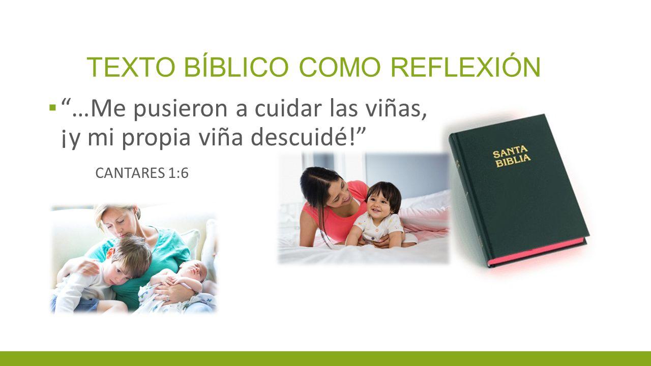 TEXTO BÍBLICO COMO REFLEXIÓN