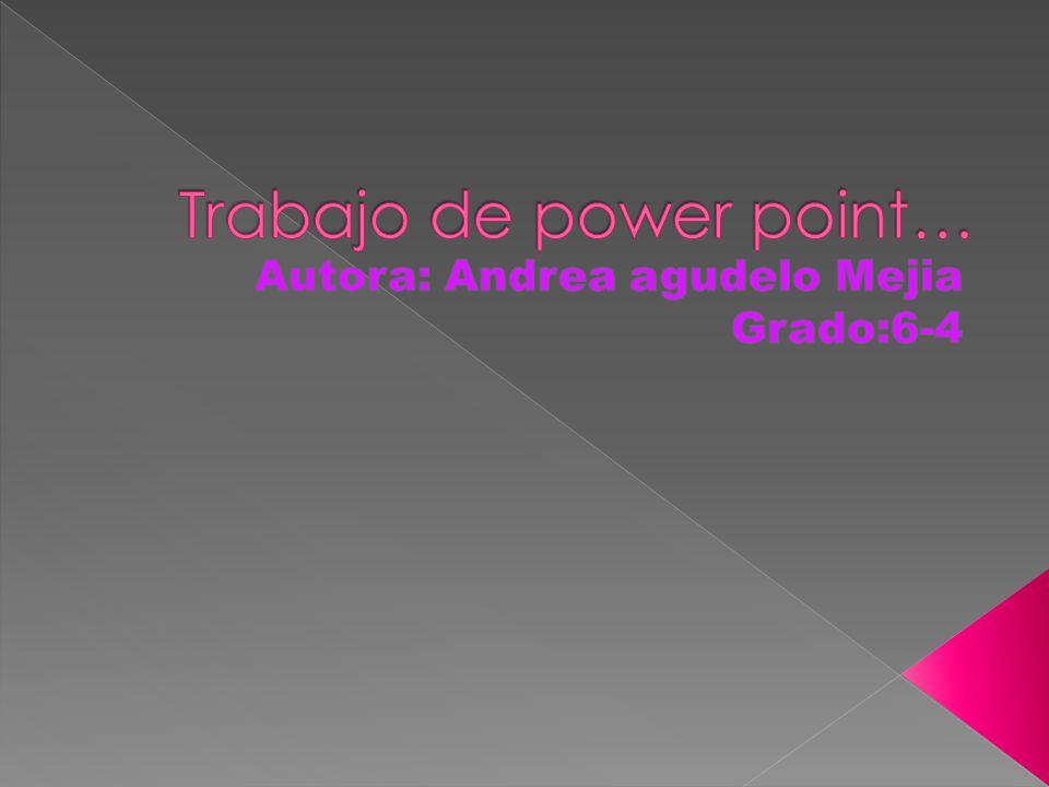 Trabajo de power point…