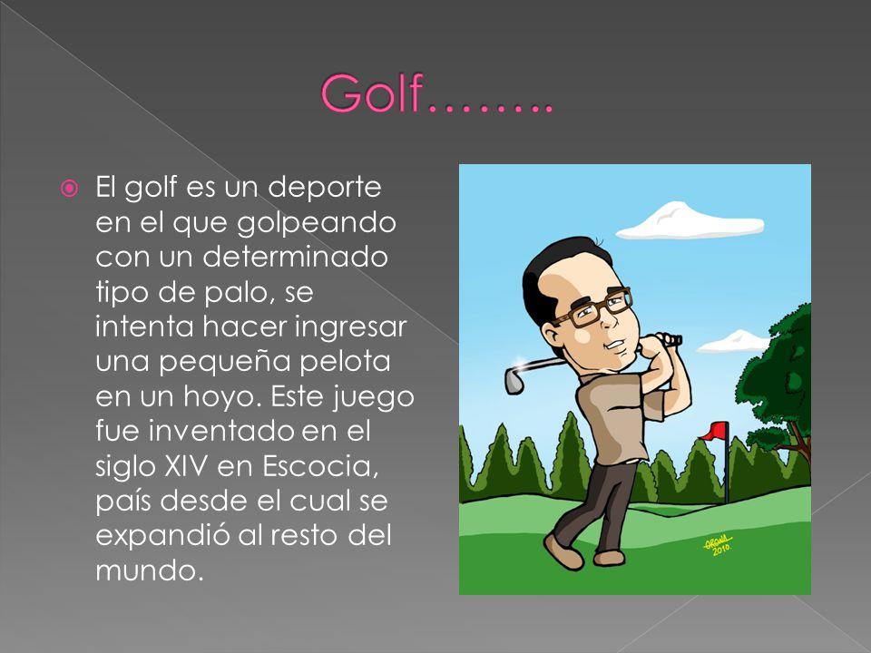 Golf……..