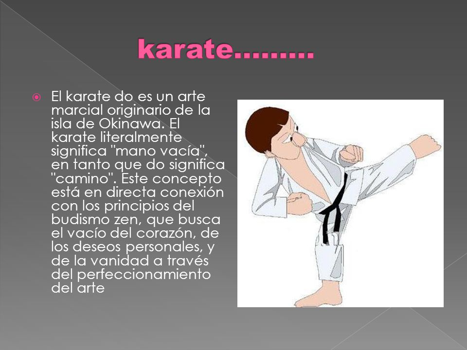 karate………