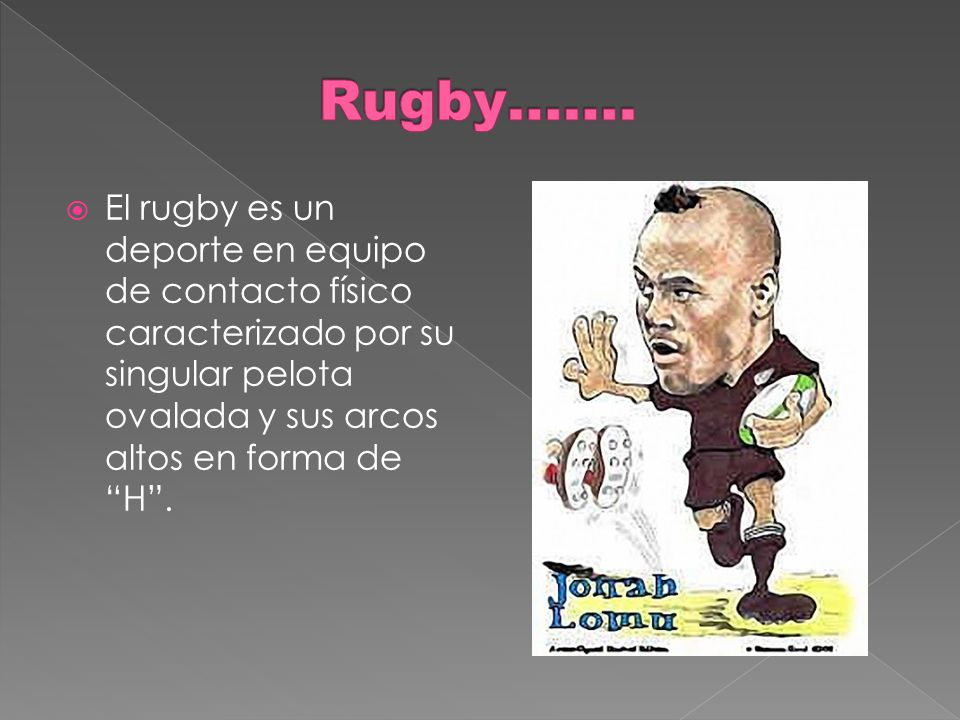 Rugby…….