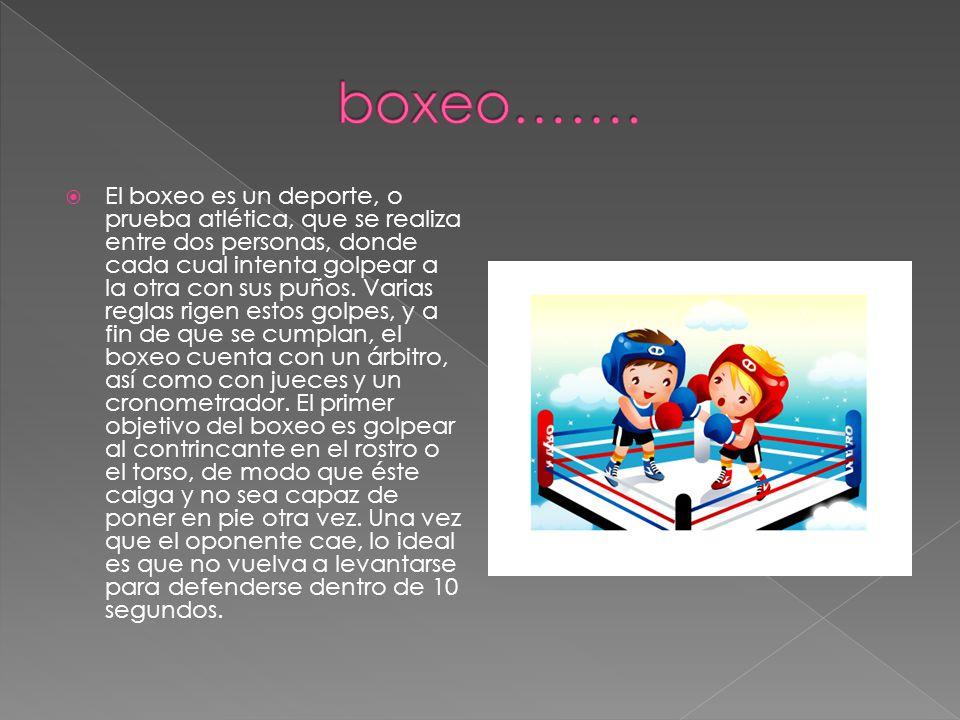 boxeo…….