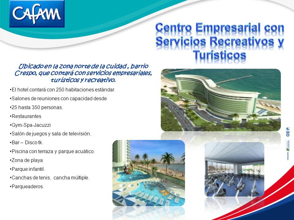 Centro Empresarial con Servicios Recreativos y