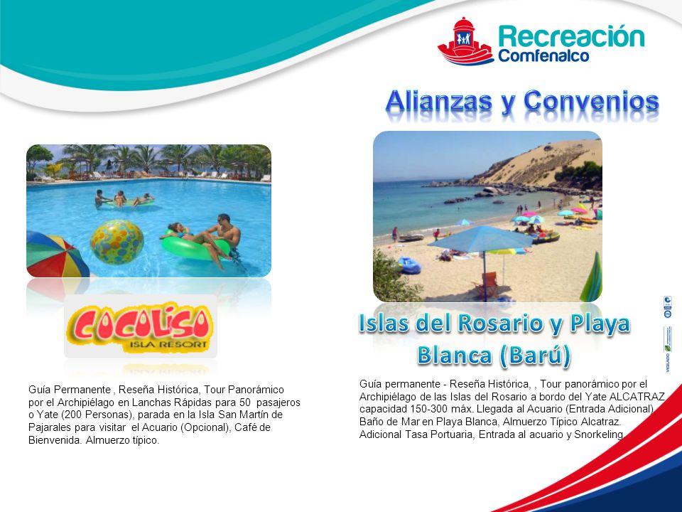 Islas del Rosario y Playa