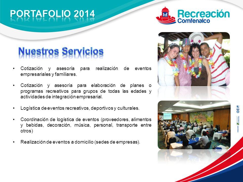 PORTAFOLIO 2014 Nuestros Servicios