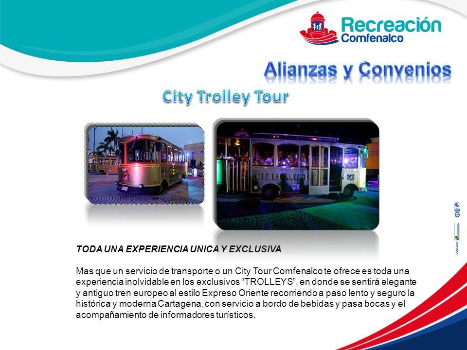Alianzas y Convenios City Trolley Tour