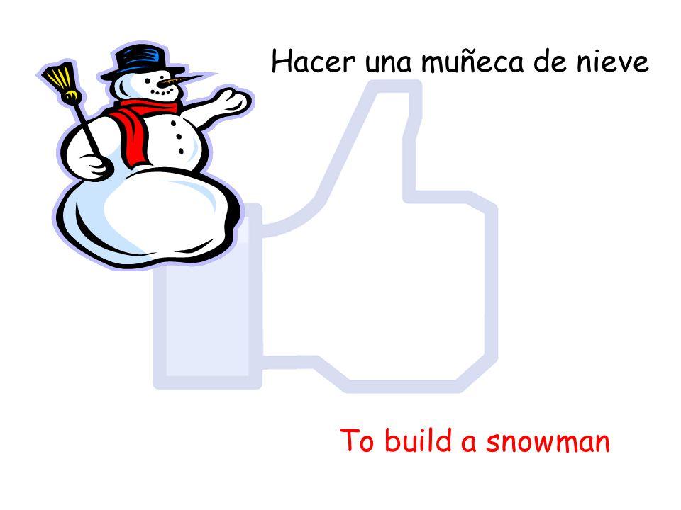 Hacer una muñeca de nieve