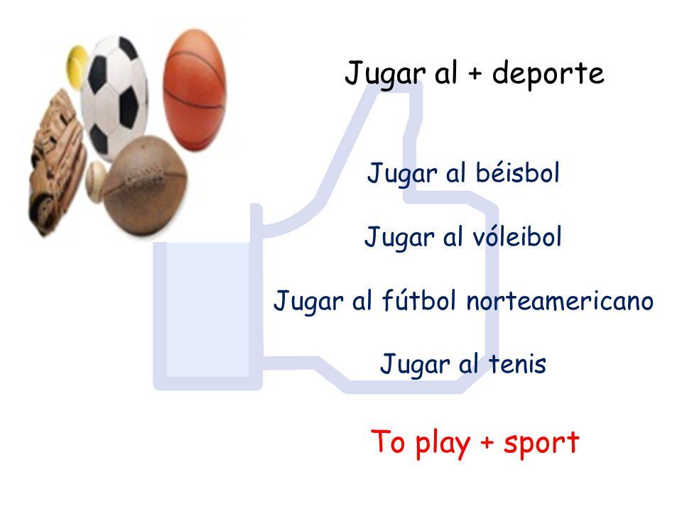 Jugar al fútbol norteamericano