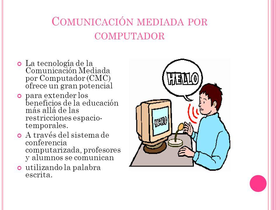 Comunicación mediada por computador