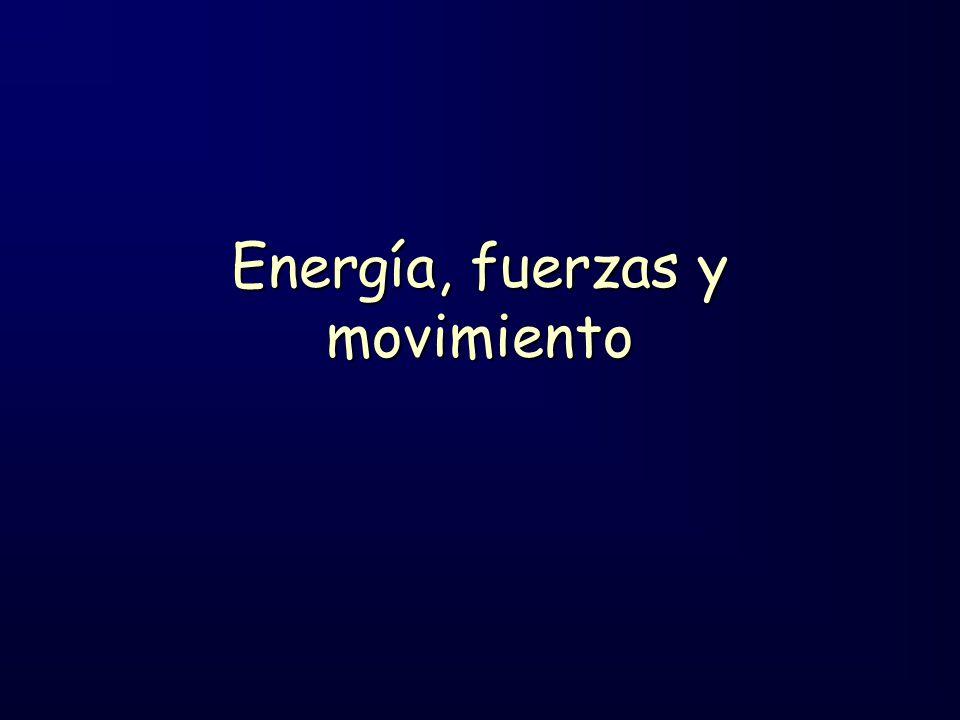 Energía, fuerzas y movimiento