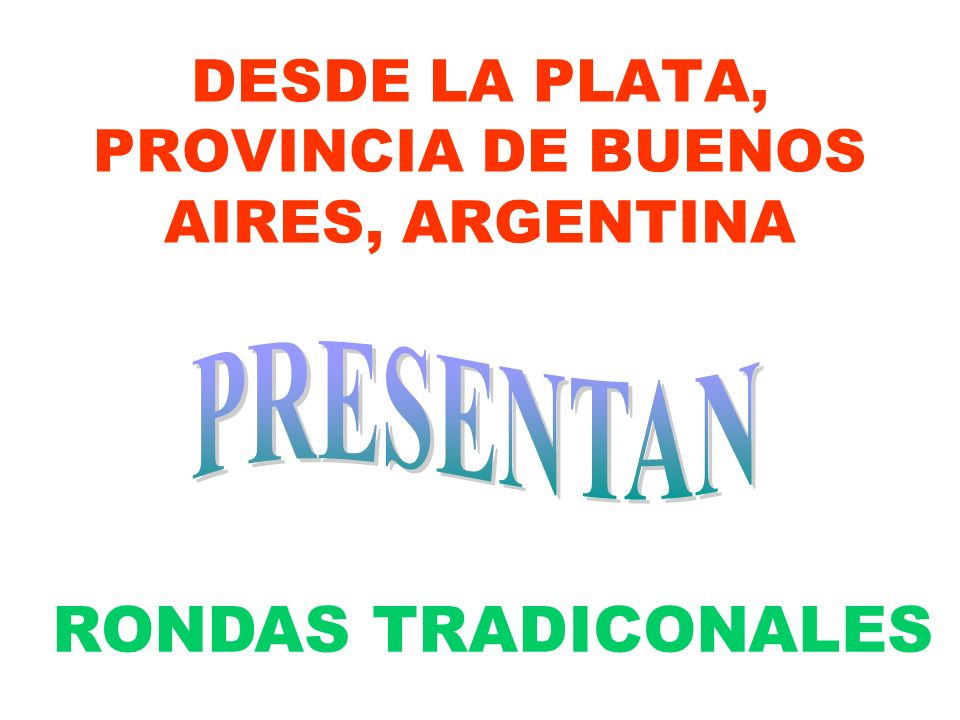 DESDE LA PLATA, PROVINCIA DE BUENOS AIRES, ARGENTINA
