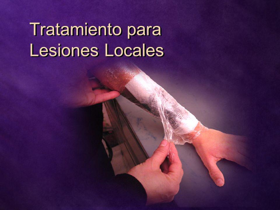 Tratamiento para Lesiones Locales