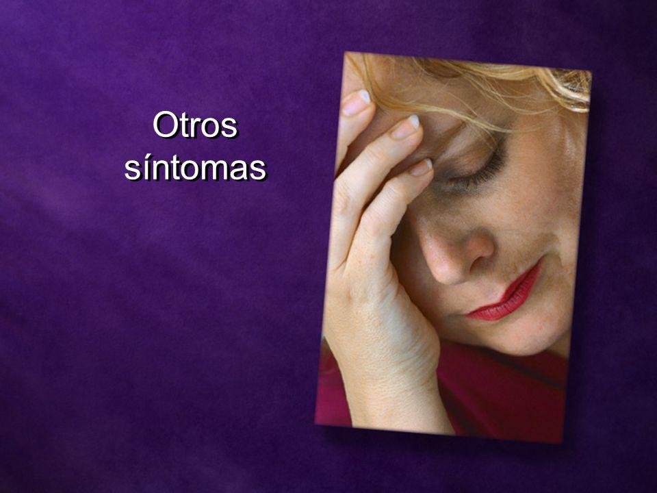 Otros síntomas