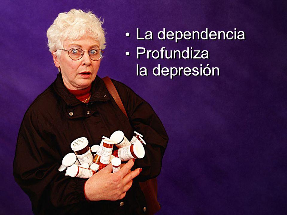 La dependencia Profundiza la depresión