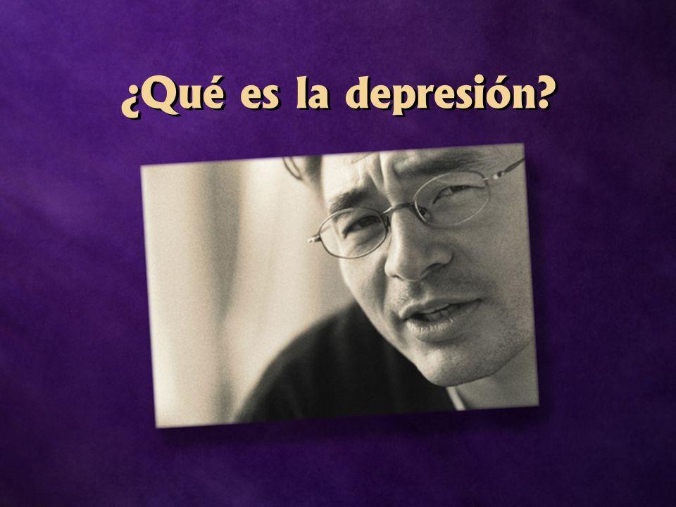 ¿Qué es la depresión