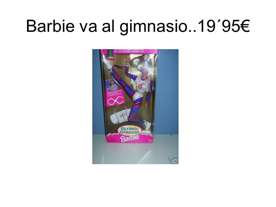 Barbie va al gimnasio..19´95€