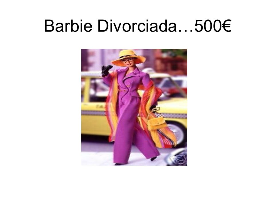 Barbie Divorciada…500€