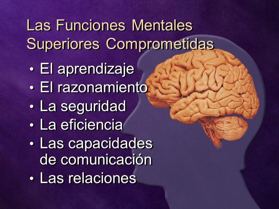 Las Funciones Mentales Superiores Comprometidas