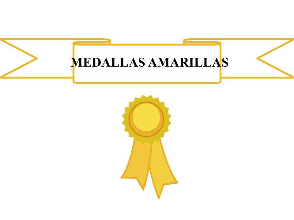 MEDALLAS AMARILLAS
