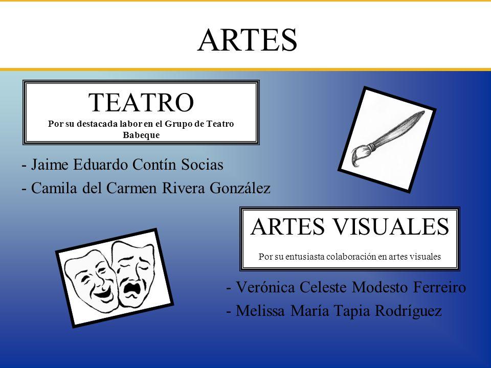 TEATRO Por su destacada labor en el Grupo de Teatro Babeque
