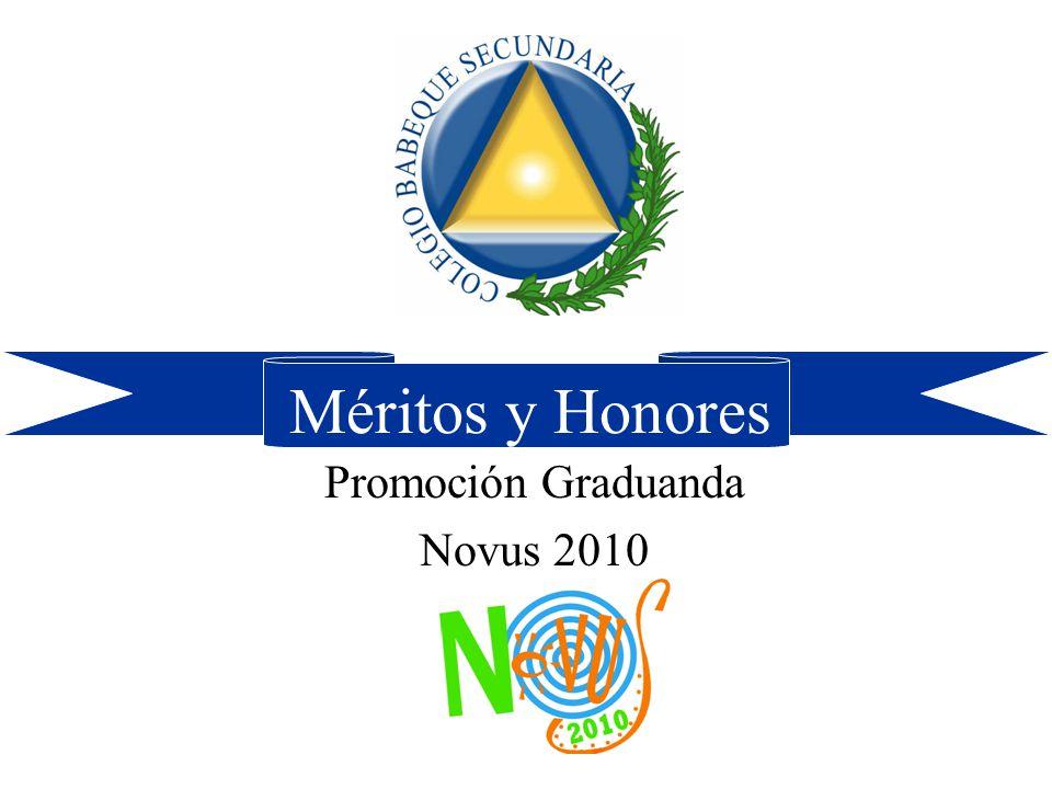 Promoción Graduanda Novus 2010