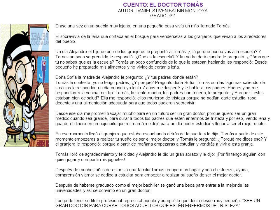 CUENTO: EL DOCTOR TOMÁS