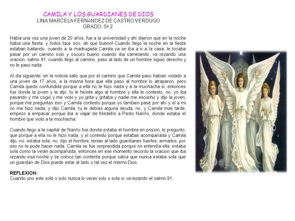 CAMILA Y LOS GUARDIANES DE DIOS