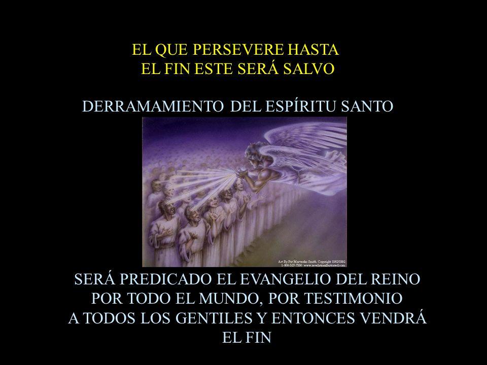 DERRAMAMIENTO DEL ESPÍRITU SANTO