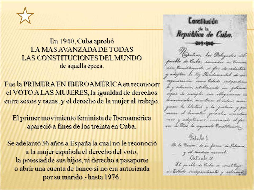 LA MAS AVANZADA DE TODAS LAS CONSTITUCIONES DEL MUNDO