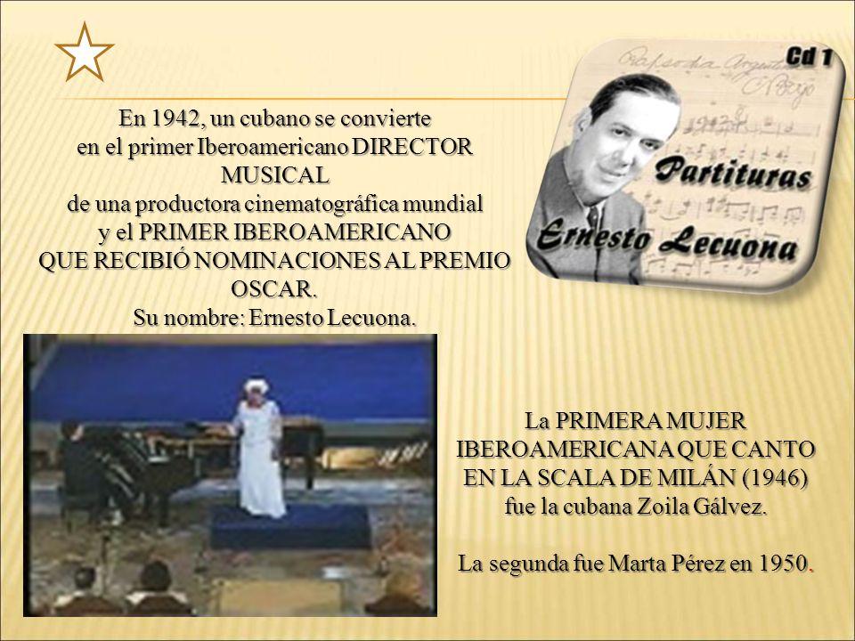 En 1942, un cubano se convierte
