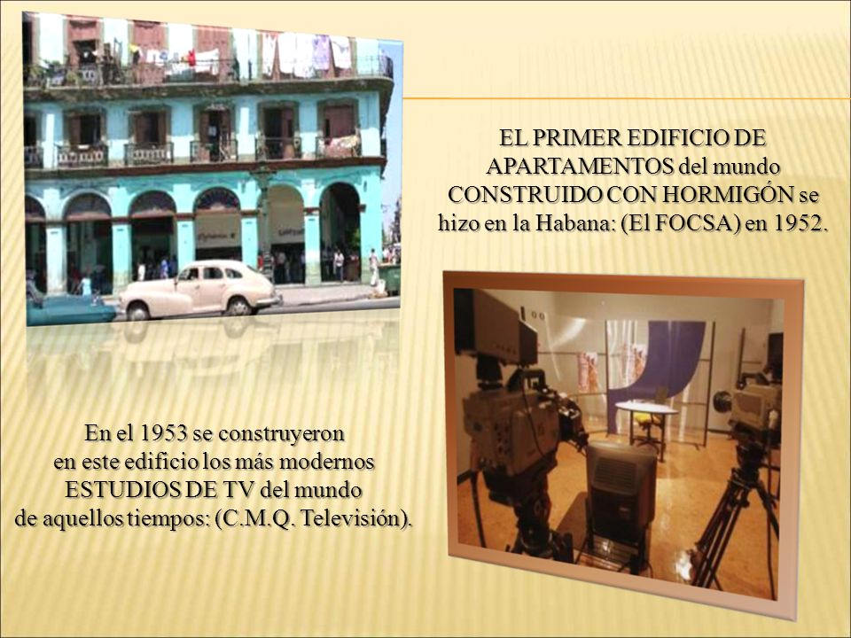en este edificio los más modernos ESTUDIOS DE TV del mundo