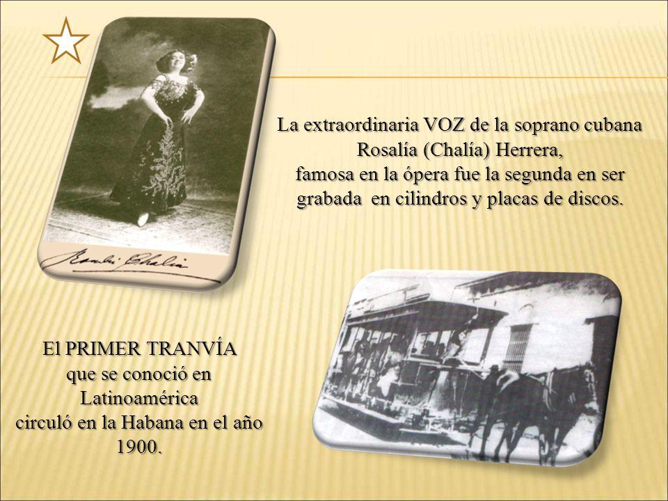La extraordinaria VOZ de la soprano cubana Rosalía (Chalía) Herrera,