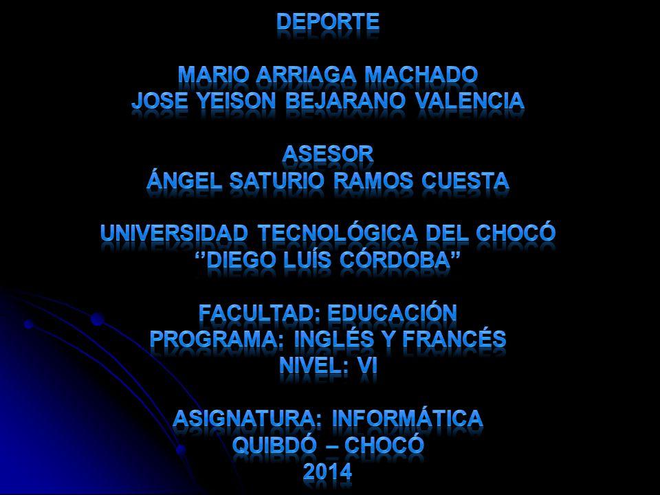 Jose Yeison Bejarano Valencia Asesor Ángel Saturio Ramos Cuesta