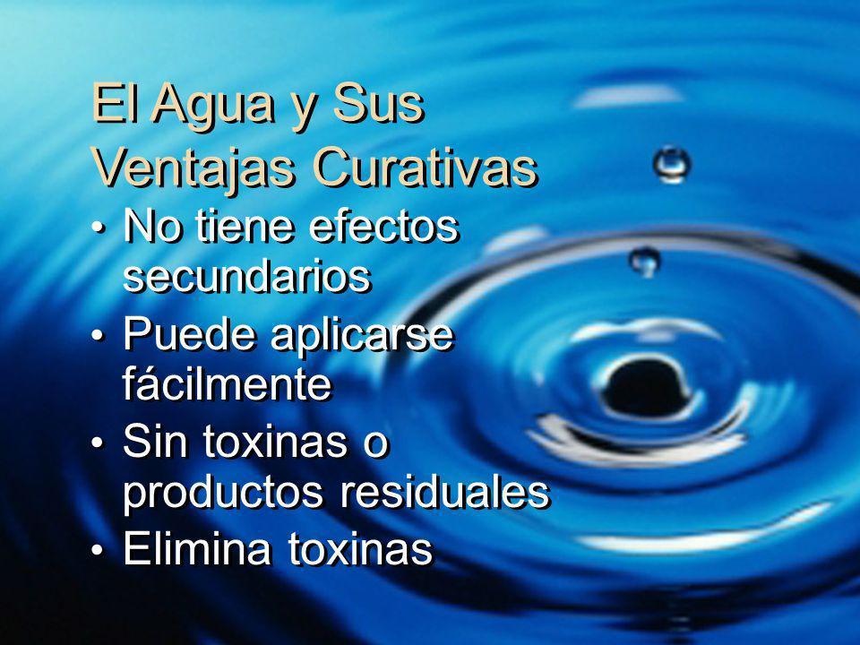 El Agua y Sus Ventajas Curativas