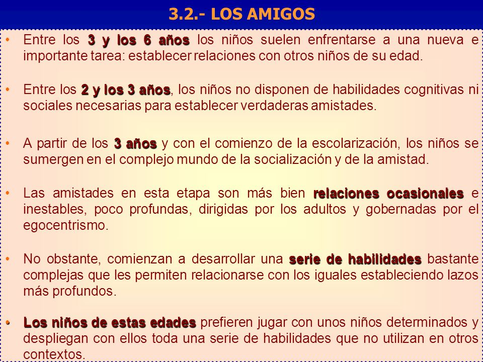3.2.- LOS AMIGOS Factores que influyen en la toma de decisiones: Elaboración y validación de un cuestionario.