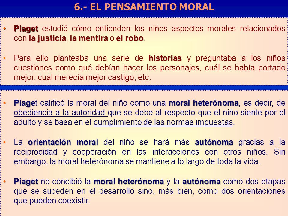 6.- EL PENSAMIENTO MORAL Factores que influyen en la toma de decisiones: Elaboración y validación de un cuestionario.