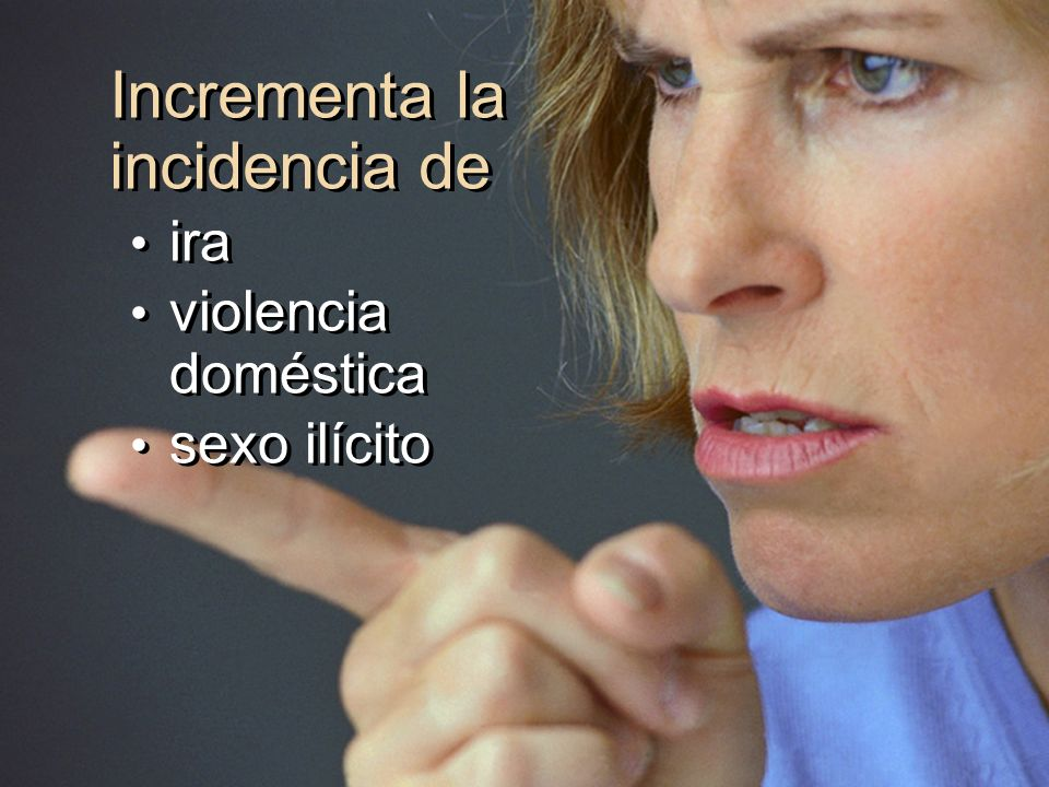 Incrementa la incidencia de