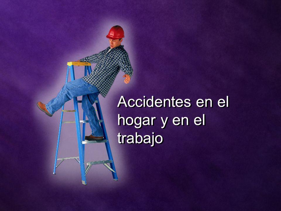Accidentes en el hogar y en el trabajo