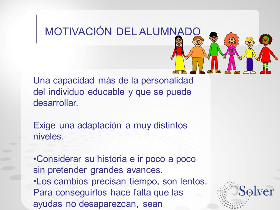 MOTIVACIÓN DEL ALUMNADO