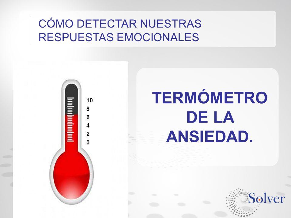 TERMÓMETRO DE LA ANSIEDAD.