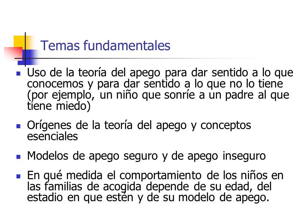 Temas fundamentales