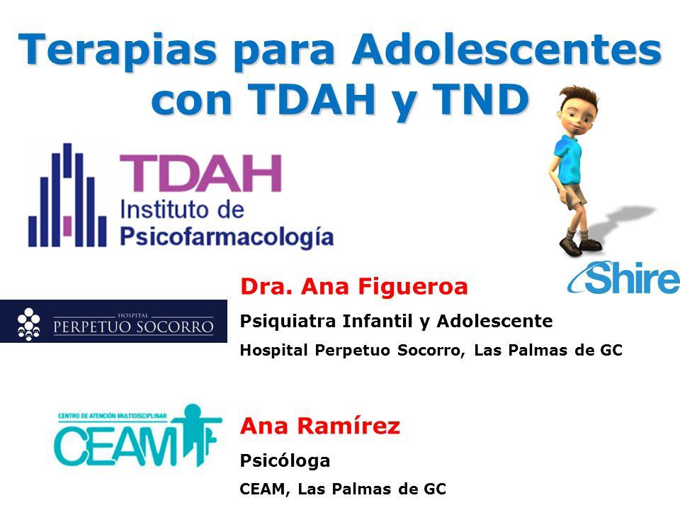 Terapias para Adolescentes con TDAH y TND