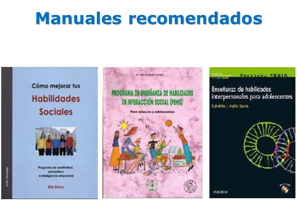 Manuales recomendados