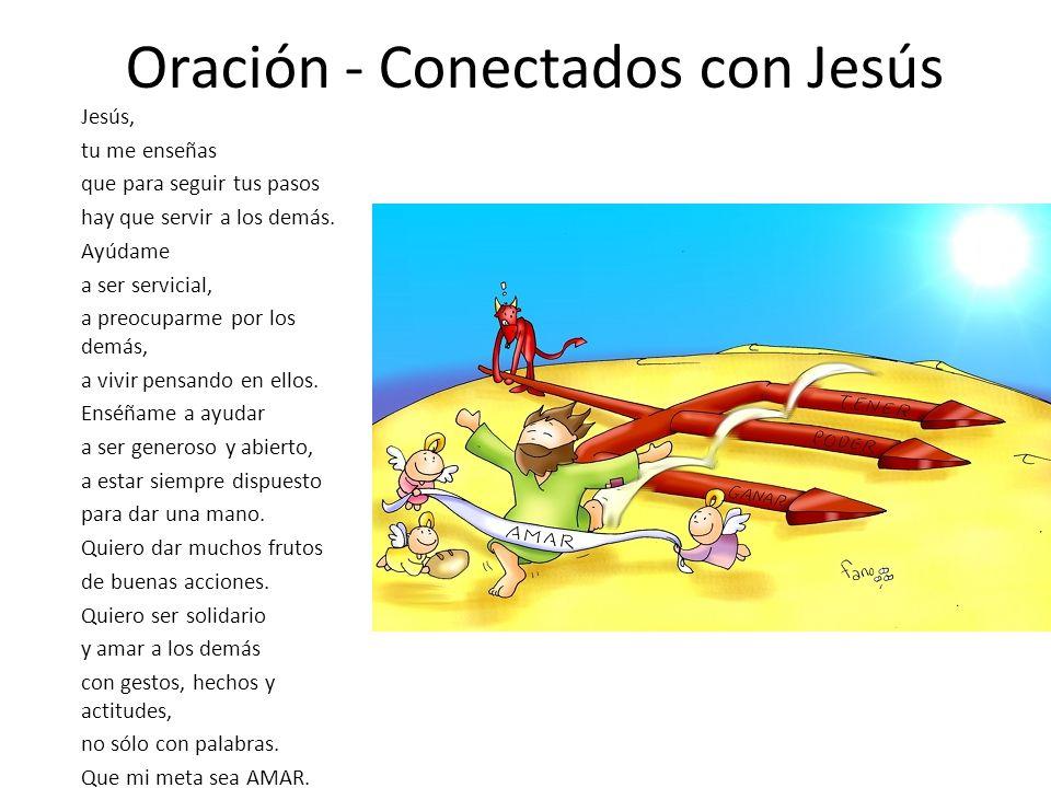 Oración - Conectados con Jesús