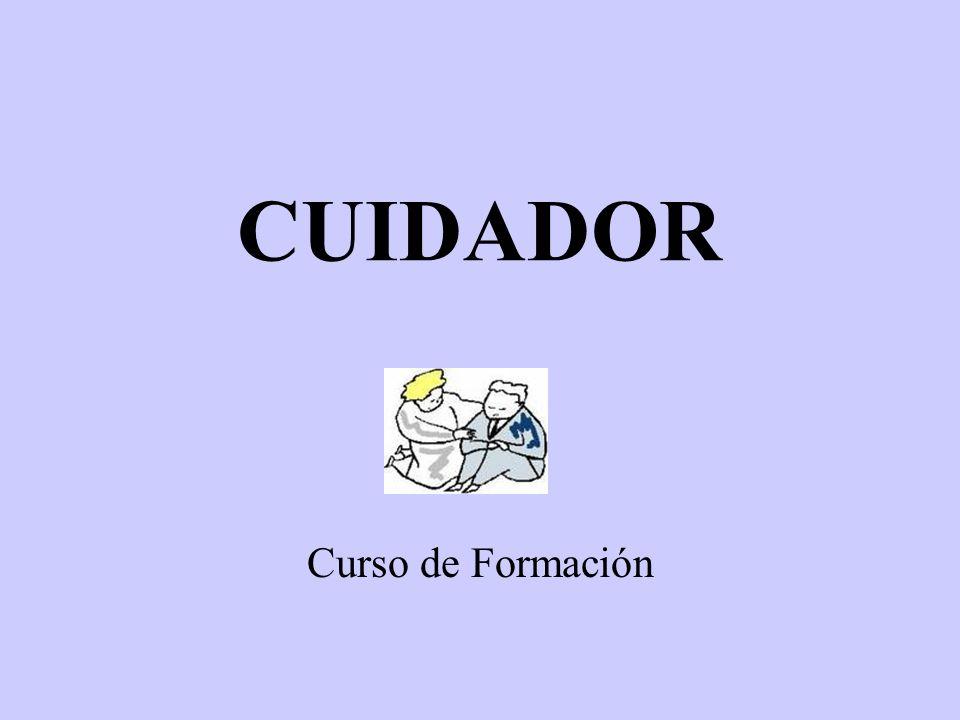 CUIDADOR Curso de Formación