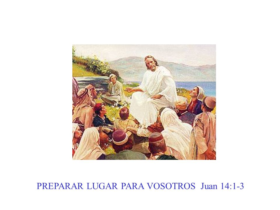 PREPARAR LUGAR PARA VOSOTROS Juan 14:1-3