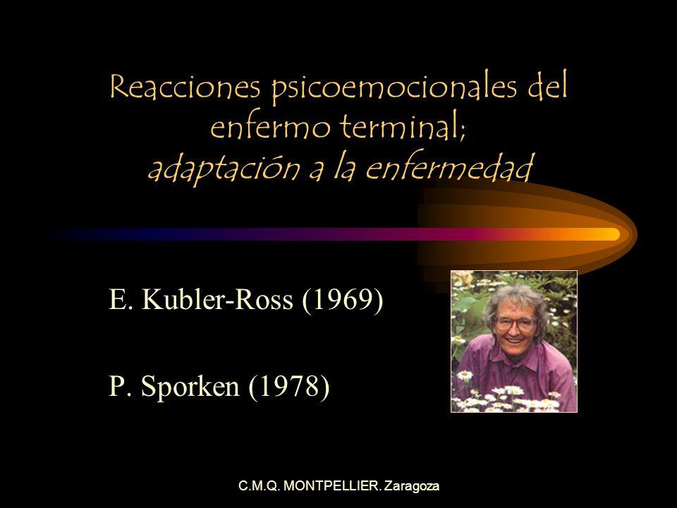 E. Kubler-Ross (1969) P. Sporken (1978)