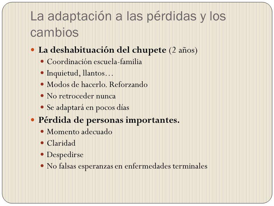 La adaptación a las pérdidas y los cambios