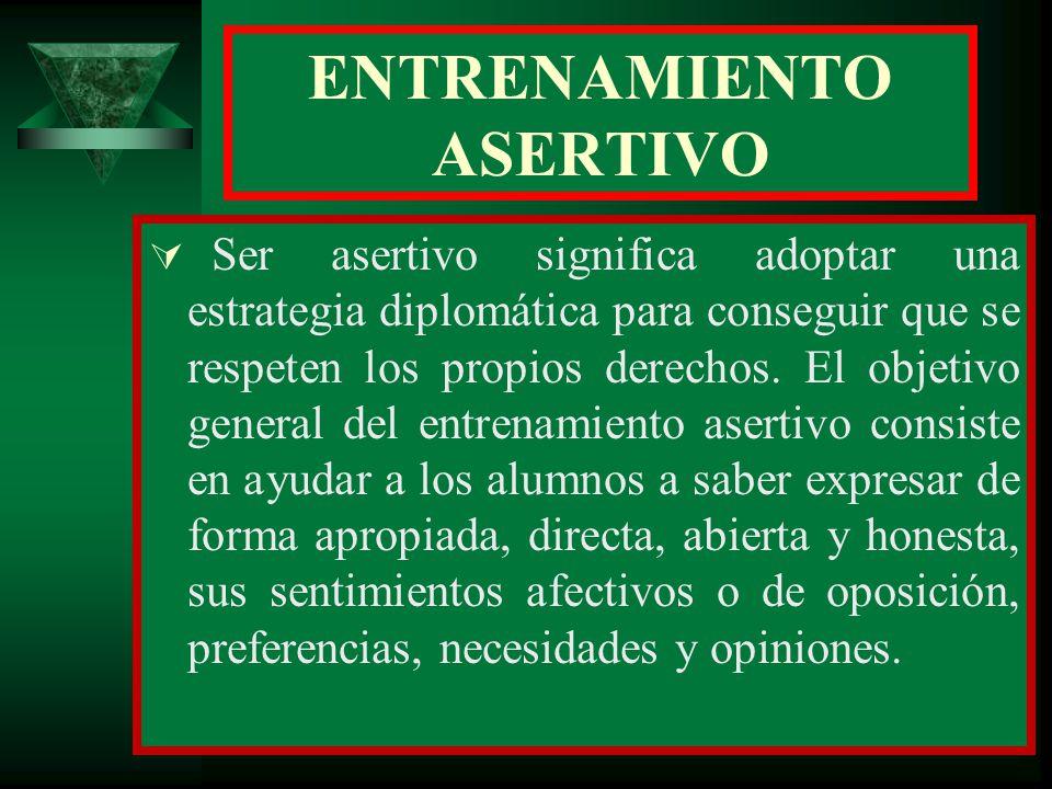 ENTRENAMIENTO ASERTIVO