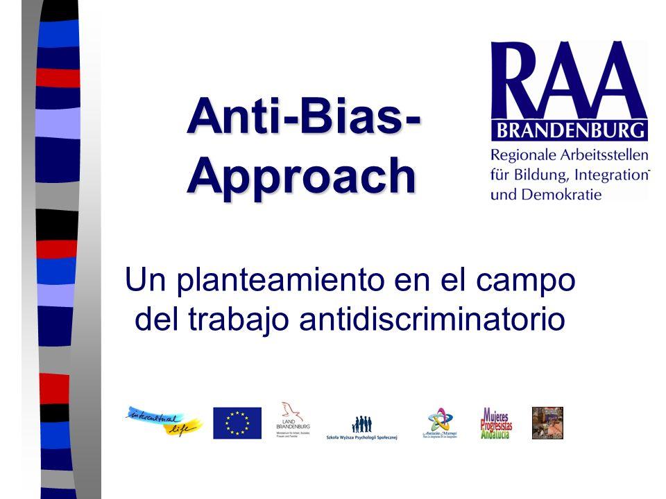 Un planteamiento en el campo del trabajo antidiscriminatorio